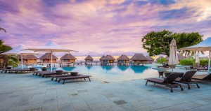 manava beach resort moorea sunset goway